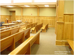 Court room furniture